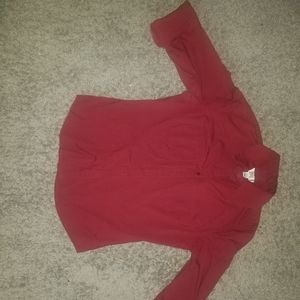 Red Loft Button Down Collar Shirt